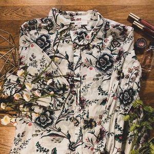 Lightweight Floral Shirt